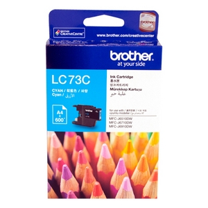 muc in brother lc 73 cyan ink cartridighe lc 73c