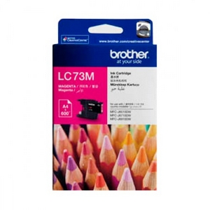 muc in brother lc 73 magenta ink cartridge lc 73m