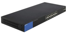Switch Linksys LGS318P 16-Port Gigabit PoE + 2 Gigabit SFP/RJ45 Combo Ports